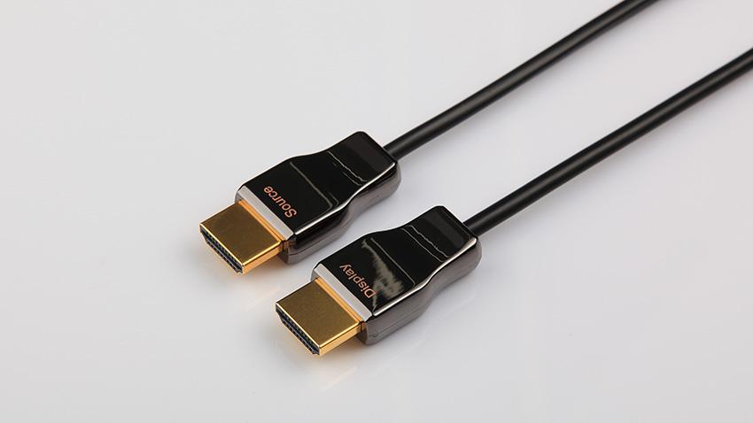 アーマー付きHDMI AOCケーブル
